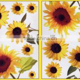 nice bright sunflower baby room wall stickers