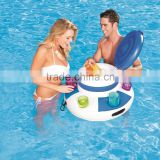 inflatable swimming pool lake cooler beverage holder