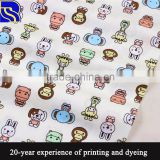 full assortment of low shrinkage long lasting cartoon upholstery fabric for sofa bed sheets