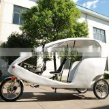 JOBO German Design Trendy Velo Taxi, 1KW Tricycle for Passenger Electric Pedicab