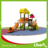 kids plastic slide,outdoor children playground equipment,amusement park set LE.YG.049
