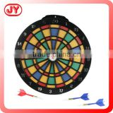 Safety target aim marketing customized full printing kids magnetic dart board with EN71