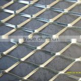 china factory high quality diamond expanded metal sheet/aluminum expanded metal/expanded metal lath
