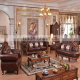 Royal chair sofa set beautiful and popular design Chinese lazy sofa