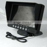 Heavy-duty folding lcd monitor stand car sunvisor car tft lcd roof mounted monitor tv usb