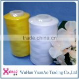 China manufactures industrial sewing thread 40s/2 100% spun polyester sewing thread