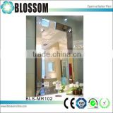 USA CANADA Square shaped 3d art wall decorative mirror                                                                                                         Supplier's Choice
