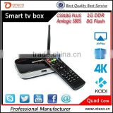 Full HD 1080P CS918G Plus Android 4.4 TV Box Amlogic S805 Quad Core A5 1G/8G XBMC/KODI DLNA Miracast Wi-Fi Bluetooth 4.0