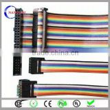 colorful 2.54 pitch solar panel 20 pin flat cable