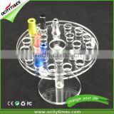 2015 Ocitytimes high quality clear acrylic plate display stand & e cig display stand                                                                         Quality Choice