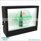 Acrylic/Metal 32 Inches Transparent Lcd Small Size Display Wine/Watch/Cigarette With Lock                                                                         Quality Choice