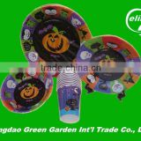 Flexo Printing excellent quality competitive price printed paper plate and cups, party set