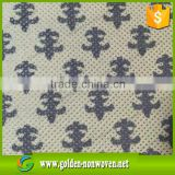 Home Textile,bag,packing Use and Nonwoven Technics printed Non woven fabric, printed spunbond nonwoven fabric