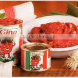 Gino Quality Canned Tomato Paste 70g, 210g, 400g, 800g, 2.2kg