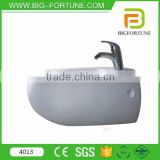 Egg style model wall hung vitreous china wc bidet