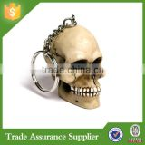 Top Handmade Halloween Costume Resin Mini Skull Key Chain Halloween Key Chain Decoration