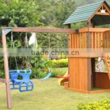 outdoor wooden kids playhouse for promotion