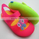 2014 New Design and Fashion PVC+EVA Kids Sandals for Summer