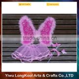 High quality fashion girls dress up party fairy wings costume halloween butterfly wings costume