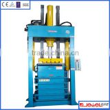 CE certificate more than 20 years history for used Clothing baling machine baler machine for used clothing