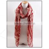 Wholesale 50%Viscose+50%Cotton With Twisted Fringes Long Plain Color lady scarf