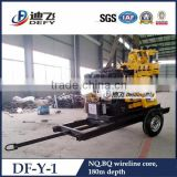 DF-Y-1 diamond core drilling rig, mineral sample exploration drilling equipment                                                                                                         Supplier's Choice