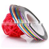 30 colors rolls striping tape line nail art sticker tools beauty decorations sticker for nail art