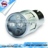 Canbus without alarm 12v led rear light 2835 SMD led driving light