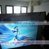 DEFI best price 59square meter(1.27m*46.61m) white front projection films stick on glass