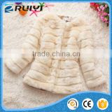 white winter thick coat, faux fur girl clothes wholesale