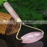 Natural Rock Rose Crystal Quartz Massage Wand