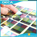 Custom 3d security laser Hologram sticker label Anti-counterfeit anti-fake anti-theft adhesive sticker