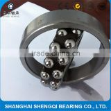 double row self aligning ball bearing 2300, 2301, 2302, 2303, 2304, 2305E/M used in oil pump, roots blower, air compression