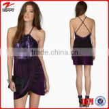2015 Cocktail dress heavy beaded evening dresses pictures of girls in short skirts designer clothing manufacturers in china