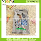 2015 Mouse t-shirt Sleeveless t shirt 100% cotton t shirt baby clothes wholesale price organic kids
