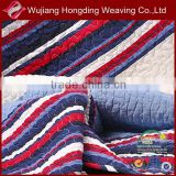 Polyester printing quilted microfiber fabric for bed
