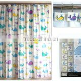 Factory can supply directly Lovely shower curtain waterproof;hand crafted shower curtain