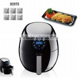 Digital control with touch screen oil free air fryer for cooker meat food home Fryer cooker