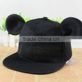 Fashion Mickey style mesh big mouse ear Basketball Baseball snapback Caps outdoor summer sports hiphop hats