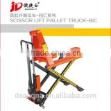 FACTORY DIRECT SALE BEST PRICE HAND SCISSOR LIFT PALLET TRUCK 2.0 TON