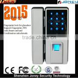 Remote Control Biometric fingerprint glass door Lock (JYF-L8800 )