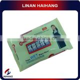 China manufacture wholesale spunlace nonwoven disposable floor customized individual pack wet wipes