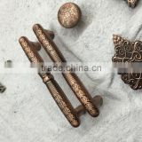 Pattern zinc alloy furniture handle European antique kitchen shoe cabinet door knob drawer pull Hardware part OEM