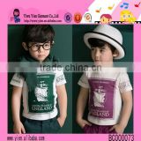 2015 Korean Style Fashion Lovely Baby Clothes Summer Best Price Boutique Shop Hot Kids Boy Clothes Set