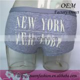 2016 new style cotton women panty for men special and sexy design of New York