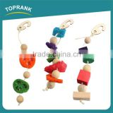 Wood bird perch bird products bird toy with low price