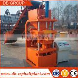automatic lego clay soil mud earth interlock brick making machine