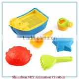 wholesale custom children bucket spade sieve rake play set beach toys summer toys,plastic wholesale beach sand toys