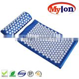 Hot Sell Eco-friendly Health Massage Acupressure Mat And Pillow