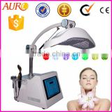 Red Led Light Therapy Skin AU-2 PDT 7 Colour Photon Led Light Therapy Skin Rejuvenation Beauty Machine 630nm Blue